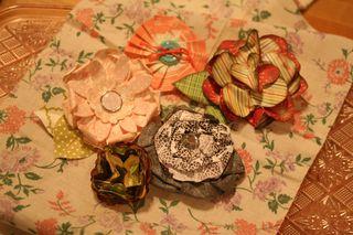 Paper flowersCHA